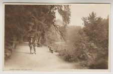 Derbyshire postcard - Lover's Walk, Matlock Bath (A183)