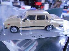FIAT 132 Limousine 1972 - 1981 creme beige IXO Altaya Atlas S-Preis 1:43