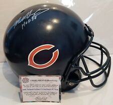 Mike Singletary Signed Chicago Bears Full Size Replica Helmet Insc. Schwartz...