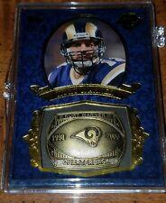 2013 Topps Kurt Warner Commemorative Ring Card #05/25 St Louis Los Angeles Rams