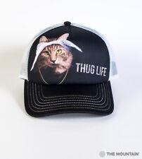 The Mountain Cute Tupaw Adult Graphic Foam Trucker Hat, Black, Adjustable