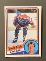 1984 O-Pee-Chee Wayne Gretzky HOF NM Edmonton Oilers