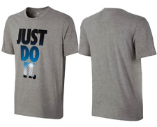 Nike Just Do It Men's Short Sleeve T-shirt Tee Gray 834701-063 S M L