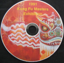 DVD - 1991 Kung Fu Masters Exhibition