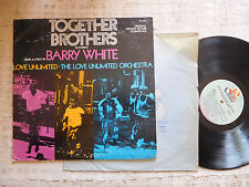 Barry White, The Love Unlimited Orchestra – Together Brothers  - LP