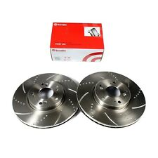 Front Brake Discs and Brembo Brake Pads BMW E46 330d 330i 330ci 330x Performance