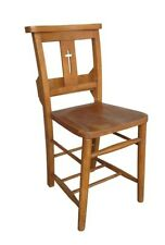 Antique Church/Chapel Chairs With Crosses & Bible Back - Reclaimed Dining Chair