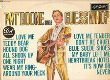 LP 3823  PAT BOONE SINGS GUESS WHO?