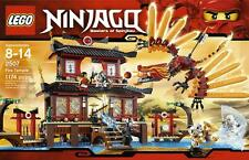 LEGO Ninjago Fire Temple 2507 Hard To Find SET Brand New