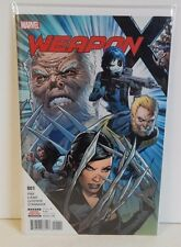 Marvel Comics Weapon X #1 Unread!! Land Wolverine Sabretooth Domino X-23