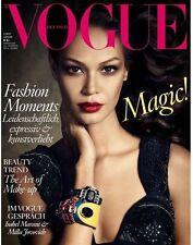 VOGUE Magazine DEUTSCH GERMANY January 2014 Joan Smalls NEW