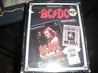 AC/DC Live: Rock Band Track Pack (Sony PlayStation 2, 2008) FREE SHIP