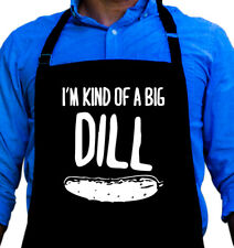 Big Dill Funny Quality Apron for Grilling, Great Gift for Men by ApronMen