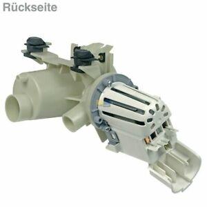 Ablaufpumpe Whirlpool 484000001051 Askoll Pumpenkopf + Sieb für Waschmaschine