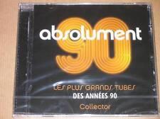 CD / ABSOLUMENT 90 / LES PLUS GRANDS TUBES DES ANNEES 90 / RARE, NEUF CELLO