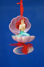 Little Mermaid Ariel Christmas Ornament Oyster Clam Shell Disney Shopping 2009