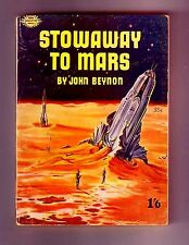 STOWAWAY TO MARS (John Beynon/John Wyndham/1st revised British/PBO/Planet Plane)