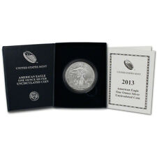 2013-W American Silver Eagle Uncirculated Collectors Burnished Coin