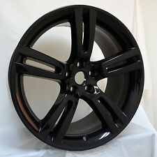 "19"" Gloss Black Jaguar XK Jupiter OEM Wheel Rim 59824 Rear 9.5 C2P1912"