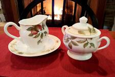 Homecraft by Noritake Fruit Canyon #9234 Sugar & Creamer Set With Bowl