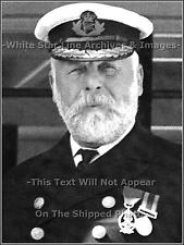Photo: Captain Smith In Black (Winter) Uniform: RMS Titanic