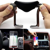 Air outlet GPS Interior Plastic Gravity Mount Air Vent Stand Car Phone Holder