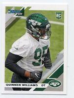 2019 Donruss #253 QUINNEN WILLIAMS New York Jets ALABAMA TIDE ROOKIE CARD RC