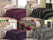 Microfiber Animal Print Blankets Throws Ebay