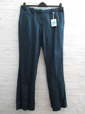 Boden Cotton Mid Rise Regular Size Trousers for Women