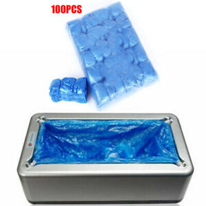 100x Cleaning Automatic Shoe Cover Dispenser For Overshoe Machine Home