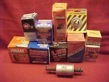 (11) ALL NEW FRAM PUROLATOR LEE STANT AC OIL FILTER GAS FILTER THERMOSTAT LOT