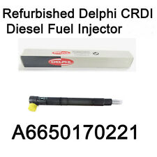 New Delphi CRDI Fuel Diesel Injector A6650170221 R04701D for Ssangyong Actyon