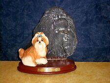 The Beautiful SHIH TZU Bradford Loyal Companion Dog Figurine 2003