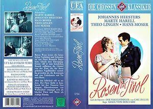 (VHS) Rosen in Tirol - Johannes Heesters, Marte Harrell, Hans Moser, Theo Lingen
