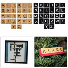 10pcs A to Z Wooden Alphabets Tiles for Making Personalize Frame Crafts