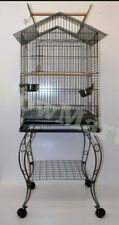 NEW Large Parrot Canary Open-Top Bird Cage Aviary & Castor Stand (Model B)