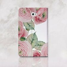 Flowers Samsung Galaxy Tab S2 8 9.7 Wallet Case Roses Tablet S3 E 9.6 Skin Tab A