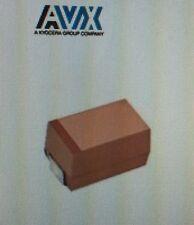 Lot Of 94 AVX TAJE106M050RNJ, Tantalum Capacitors Solid SMD 50volts 10uF 20%#W9