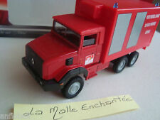 TRUCK RENAULT 180 POSITION MEDICAL PRE- GIRONDE FIREFIGHTERS SDI 33 1/50° SOLIDO