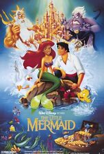 "DISNEY'S THE LITTLE MERMAID Movie Poster [Licensed-NEW-USA] 27x40"" Theater Size"