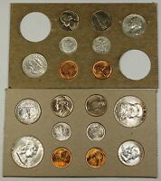1956 U.S. Complete Original Naturally Toned Double Mint Set 18 Coins 10 Silver