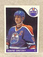 1985-86 Topps Wayne Gretzky #120 HOF Edmonton Oilers