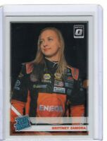 2020 PANINI NASCAR DONRUSS RACING BRITTNEY ZAMORA OPTIC RATED ROOKIE CARD #17