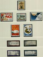 Malta 1990/92 collection of complete sets, singles and sheetlets almost   Stamps