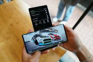 LG WING 5G gris version internationale déverrouillé - 128Go