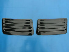 Universal Front Bonnet Air Flow Scoop Vent Cover 1 Pair Honda Mitsubishi Toyota