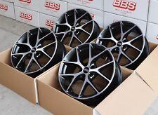 BBS SR vulcano grau 4 Felgen 8x18 Zoll ET45 SR016 für VW Passat Typ 3C + B8