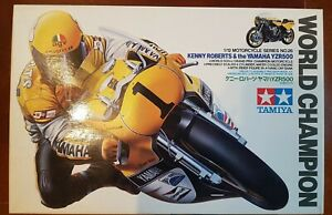 Tamiya 1:12 World Champion Kenny Roberts Yamaha YZR500 Model Kit