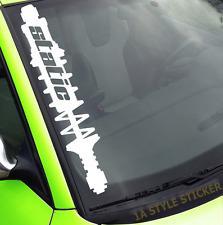 Autoaufkleber Static Gewinde Frontscheibenaufkleber Auto dapper stance works