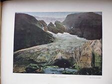 SUEDE/NORVEGE:Gravure 19°in folio couleur/ SUPHELLEBROE